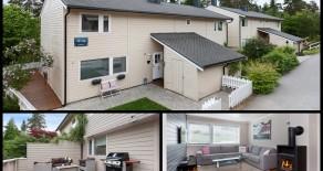 Konnerud: Lekker halvdel av tomannsbolig o/2 plan*Usjenert vestvendt terrasse*Garasje*Nyere kjøkken og bad*Barnevennlig*