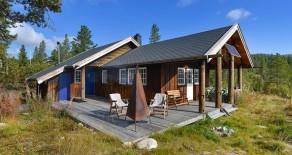 Nedre Eggedal/Venlifjell – Fantastisk beliggende hytte i rolige omgivelser – Utsikt mot Blefjell – Solrikt – Nær Trillemarka
