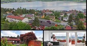 Hedensrud/Drammen- Attraktivt SELVEIER rekkehus over tre plan m/høy standard og nydelig fjordutsikt. Garasje, solrik terrasse, skjermet markterrasse, koselig hage og stue med peis. Barnevennlig og rolig området m/særdeles god intern beliggenhet på feltet!
