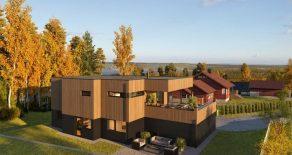 Gullhella / Asker – Eksklusiv funkisbolig m/høy standard – Dobbelgarasje – Solrik terrasse – Utsikt!
