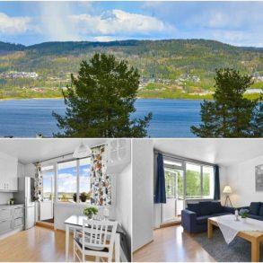 Hedensrud / Drammen Romslig gjennomgående 3-roms leilighet med 2 balkonger med utsikt mot fjorden og marka. Følt 2.etg. med lite trapper!
