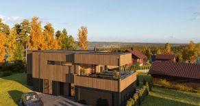 Gullhella / Asker – Eksklusiv funkisbolig m/høy standard – Dobbelgarasje – Solrik terrasse
