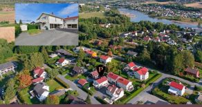 Hokksund/Øvre Eiker Sentrumsnær 3-roms selveierleilighet fra 2009 – Sørvestvendt balkong – Carport – Ingen nabo over, under eller ved siden!
