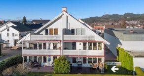 Mjøndalen Sentrum / Drammen Lekker 3-roms selveier – Hage – Solrik terrasse – P-plass – Skjermet blindvei – Trappefritt – Sentralt – Nær togstasjon