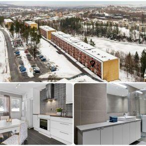 Borgen / Asker Gjennomgående 4-roms selveier – 2 balkonger – Solrikt – Utsikt – Bad renovert 2018 – Lite trapper – Parkeringsmuligheter!